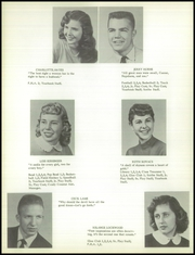 Page 18, 1957 Edition, Bentley High School - Echo Yearbook (Burton, MI) online yearbook collection