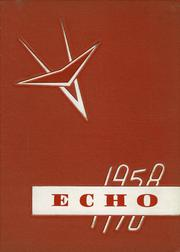 Bentley High School - Echo Yearbook (Burton, MI) online yearbook collection, 1958 Edition, Page 1