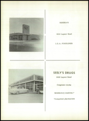 Page 74, 1958 Edition, Bentley High School - Echo Yearbook (Burton, MI) online yearbook collection