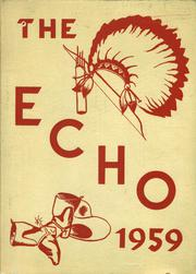 Bentley High School - Echo Yearbook (Burton, MI) online yearbook collection, 1959 Edition, Page 1