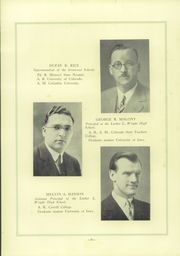 Page 15, 1929 Edition, Luther L Wright High School - Hematite Yearbook (Ironwood, MI) online yearbook collection