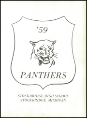 Page 7, 1959 Edition, Stockbridge High School - Echo Yearbook (Stockbridge, MI) online yearbook collection