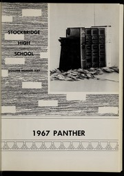 Page 5, 1967 Edition, Stockbridge High School - Panther Yearbook (Stockbridge, MI) online yearbook collection
