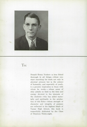 Vassar High School - Echo Yearbook (Vassar, MI) online yearbook collection, 1938 Edition, Page 8