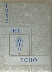 Vassar High School - Echo Yearbook (Vassar, MI) online yearbook collection, 1957 Edition, Page 1