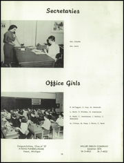 Page 14, 1957 Edition, Vassar High School - Echo Yearbook (Vassar, MI) online yearbook collection