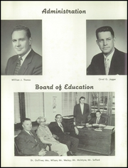 Page 8, 1957 Edition, Vassar High School - Echo Yearbook (Vassar, MI) online yearbook collection