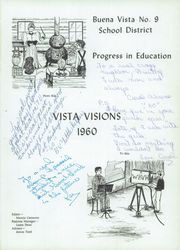Page 5, 1960 Edition, Buena Vista High School - Vista Visions Yearbook (Saginaw, MI) online yearbook collection