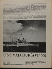 Page 8, 1952 Edition, Valcour (AVP 55) - Naval Cruise Book online yearbook collection