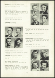 Page 15, 1950 Edition, Berrien Springs High School - Canoe Yearbook (Berrien Springs, MI) online yearbook collection