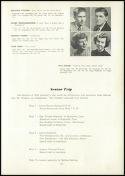 Page 17, 1950 Edition, Berrien Springs High School - Canoe Yearbook (Berrien Springs, MI) online yearbook collection