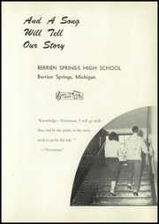 Page 5, 1950 Edition, Berrien Springs High School - Canoe Yearbook (Berrien Springs, MI) online yearbook collection