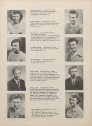 Page 15, 1951 Edition, Berrien Springs High School - Canoe Yearbook (Berrien Springs, MI) online yearbook collection