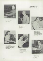 Page 14, 1955 Edition, Berrien Springs High School - Canoe Yearbook (Berrien Springs, MI) online yearbook collection