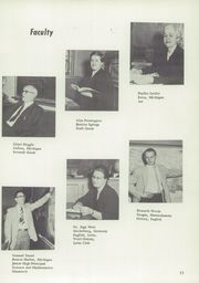 Page 15, 1955 Edition, Berrien Springs High School - Canoe Yearbook (Berrien Springs, MI) online yearbook collection