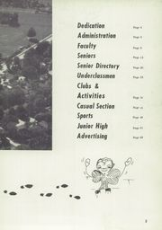 Page 7, 1955 Edition, Berrien Springs High School - Canoe Yearbook (Berrien Springs, MI) online yearbook collection