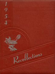 Page 1, 1954 Edition, Michigan Center High School - Recollections Yearbook (Michigan Center, MI) online yearbook collection