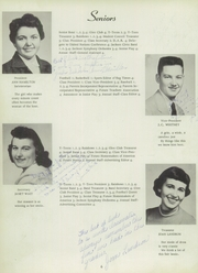 Page 10, 1954 Edition, Michigan Center High School - Recollections Yearbook (Michigan Center, MI) online yearbook collection