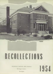 Page 5, 1954 Edition, Michigan Center High School - Recollections Yearbook (Michigan Center, MI) online yearbook collection