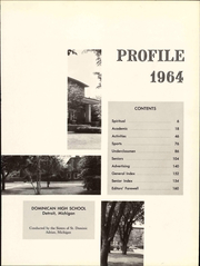 Page 7, 1964 Edition, Dominican High School - Profile Yearbook (Detroit, MI) online yearbook collection
