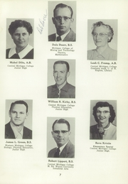 Page 11, 1956 Edition, Ithaca High School - Ithacansian Yearbook (Ithaca, MI) online yearbook collection