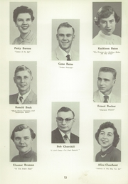 Page 16, 1956 Edition, Ithaca High School - Ithacansian Yearbook (Ithaca, MI) online yearbook collection