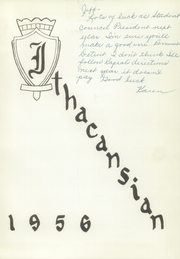 Page 5, 1956 Edition, Ithaca High School - Ithacansian Yearbook (Ithaca, MI) online yearbook collection