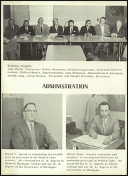 Page 10, 1959 Edition, Walled Lake High School - Viking Yearbook (Walled Lake, MI) online yearbook collection