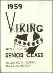 Page 5, 1959 Edition, Walled Lake High School - Viking Yearbook (Walled Lake, MI) online yearbook collection