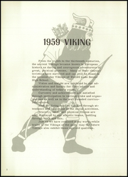 Page 6, 1959 Edition, Walled Lake High School - Viking Yearbook (Walled Lake, MI) online yearbook collection