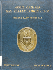 Page 1, 1997 Edition, Valley Forge (CG 50) - Naval Cruise Book online yearbook collection