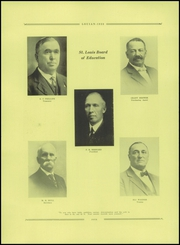 Page 8, 1923 Edition, St Louis High School - Louian Yearbook (St Louis, MI) online yearbook collection