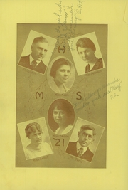 Page 16, 1921 Edition, Manistique High School - Kidinedamawin Yearbook (Manistique, MI) online yearbook collection
