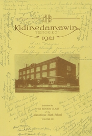 Page 7, 1921 Edition, Manistique High School - Kidinedamawin Yearbook (Manistique, MI) online yearbook collection