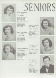 Page 15, 1948 Edition, Montague High School - Reflector Yearbook (Montague, MI) online yearbook collection