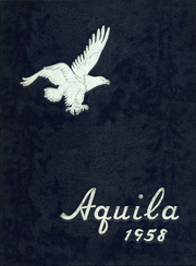1958 Edition, Lutheran East High School - Aquila Yearbook (Harper Woods, MI)