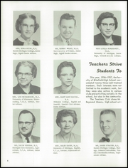 Page 10, 1957 Edition, Blissfield High School - Elysium Yearbook (Blissfield, MI) online yearbook collection