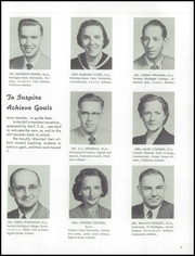 Page 11, 1957 Edition, Blissfield High School - Elysium Yearbook (Blissfield, MI) online yearbook collection