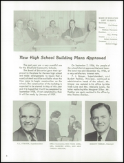 Page 8, 1957 Edition, Blissfield High School - Elysium Yearbook (Blissfield, MI) online yearbook collection