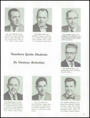 Page 9, 1957 Edition, Blissfield High School - Elysium Yearbook (Blissfield, MI) online yearbook collection
