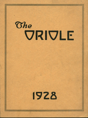 Quincy High School - Oriole Yearbook (Quincy, MI) online yearbook collection, 1928 Edition, Page 1