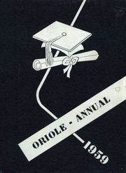 Quincy High School - Oriole Yearbook (Quincy, MI) online yearbook collection, 1959 Edition, Page 1