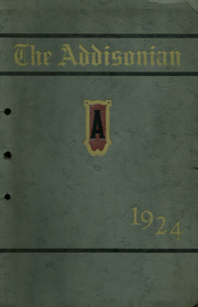 1924 Edition, Addison High School - Panther Yearbook (Addison, MI)