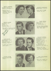 Page 15, 1952 Edition, Sandusky High School - Echo Yearbook (Sandusky, MI) online yearbook collection