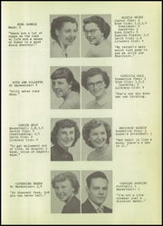 Page 17, 1952 Edition, Sandusky High School - Echo Yearbook (Sandusky, MI) online yearbook collection