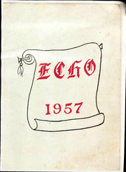 1957 Edition, Sandusky High School - Echo Yearbook (Sandusky, MI)