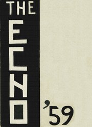 1959 Edition, Sandusky High School - Echo Yearbook (Sandusky, MI)