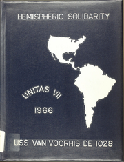 Page 1, 1966 Edition, Van Voorhis (DE 1028) - Naval Cruise Book online yearbook collection