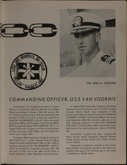 Page 9, 1966 Edition, Van Voorhis (DE 1028) - Naval Cruise Book online yearbook collection