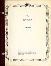 Page 3, 1948 Edition, Charlevoix High School - Rayder Yearbook (Charlevoix, MI) online yearbook collection